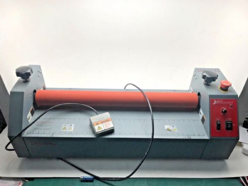"Hot press / Drytac motorised 25"" cold mounter and laminator"